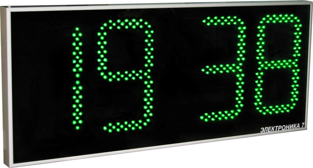 Настенные электронные часы с большими цифрами своими руками 63